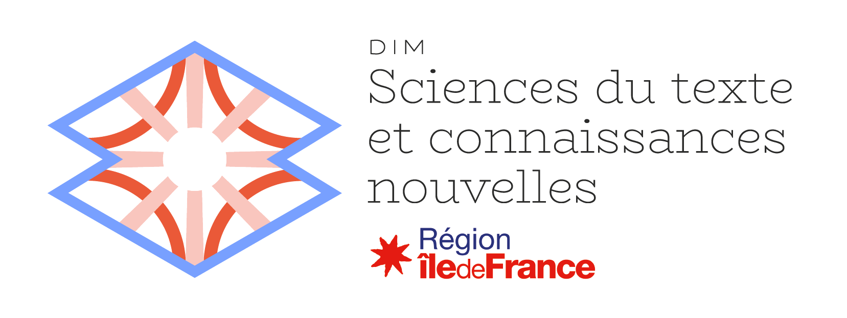 logo of DIM (text science)